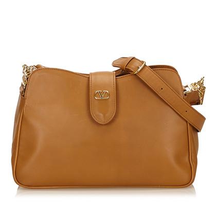 Valentino Leather Shoulder Bag