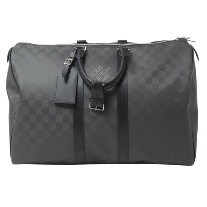 Louis Vuitton Keepall Damier Carbone 45
