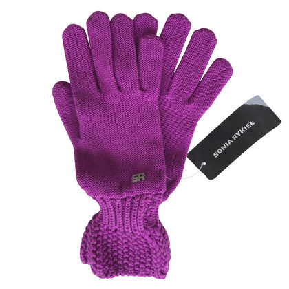 Sonia Rykiel Purple gloves