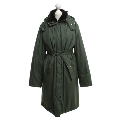 Armani Coat in dark green