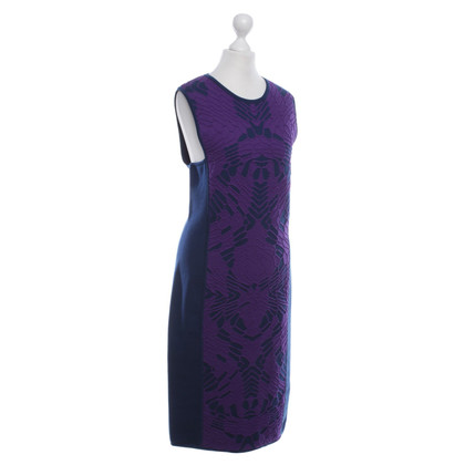 Versace Knitted Dress in Blue / Purple