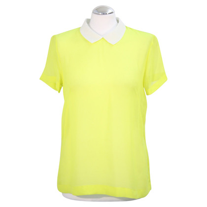 French Connection Top in neon geel