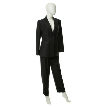 Hermès Broek pak in antraciet