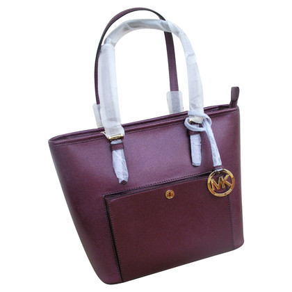 Michael Kors Tote Bag in Bordeaux