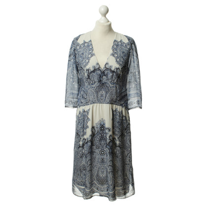 Etro Seidenkleid mit Muster