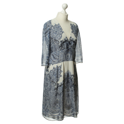 Etro Silk dress with pattern