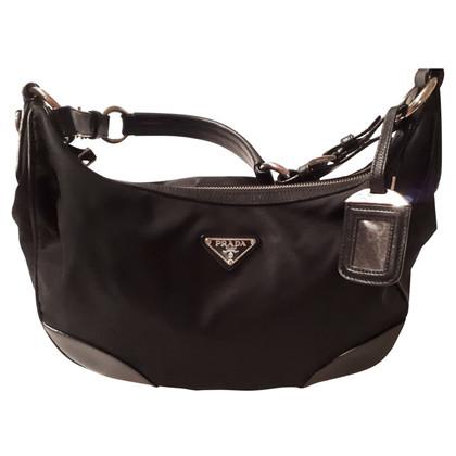 Prada Leather bag / fabric bag