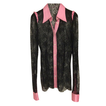 Dolce & Gabbana Blouse with black guipure