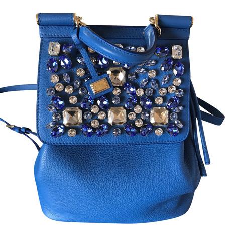 Dolce & Gabbana Rucksack Blau Bestseller Verkauf Online Rabatt Größte Lieferant FWdzsztl