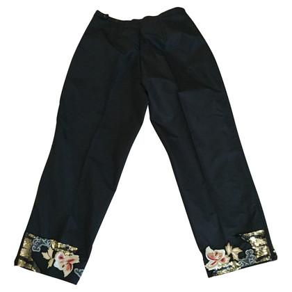 Blumarine Pantalone 7/8 nero