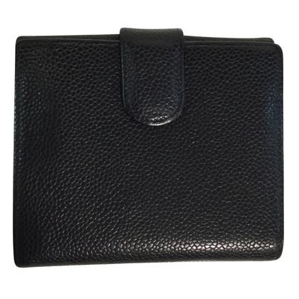 Chanel Portemonnee zwart klein