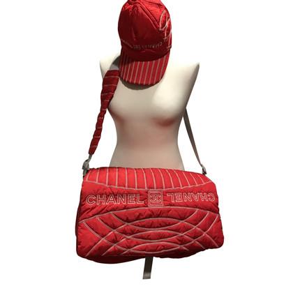 Chanel Messenger Bag mit Mütze