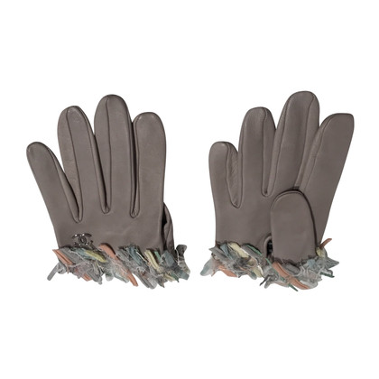 Chanel Gloves grey