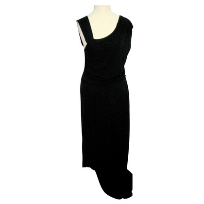 Hugo Boss Asymmetrical black evening dress