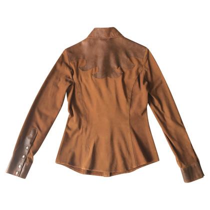 D&G Bluse aus Wildleder