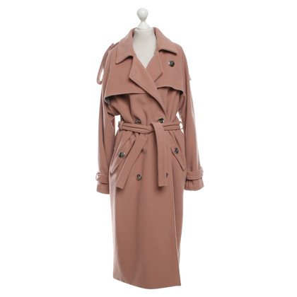 Marcel Ostertag Trenchcoat in Light Pink