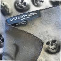 Alexander McQueen Schedelmotief doek met Kashmir