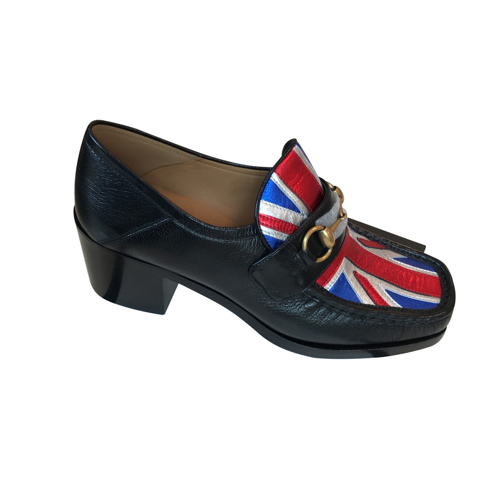 gucci gucci moccasin flag buy second hand gucci gucci moccasin flag for. Black Bedroom Furniture Sets. Home Design Ideas