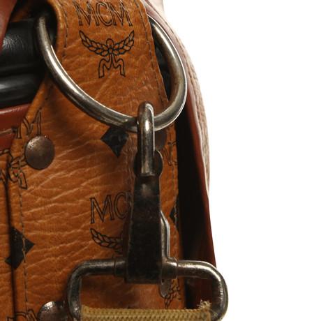 Niedriger Preis Günstiger Preis Neue Ankunft Günstig Online MCM Reise-Golfbag mit Monogramm-Muster Braun Angebote Zum Verkauf Für Günstig Online Mit Paypal Zahlen Online vHdPpbyFoz