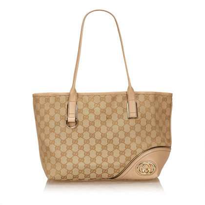 Gucci Guccissima Jacquard Britt Tote Bag