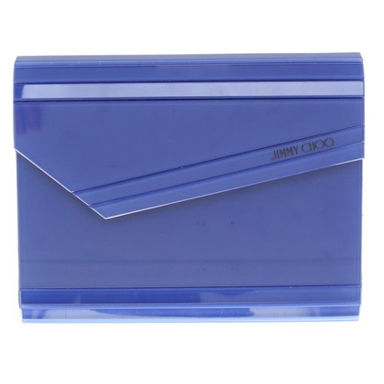 Jimmy Choo clutch in blauw