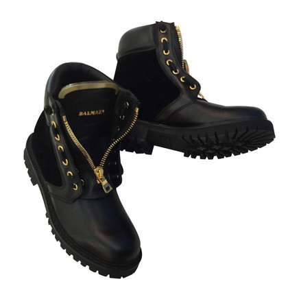 Balmain Boots Leather 38 EU
