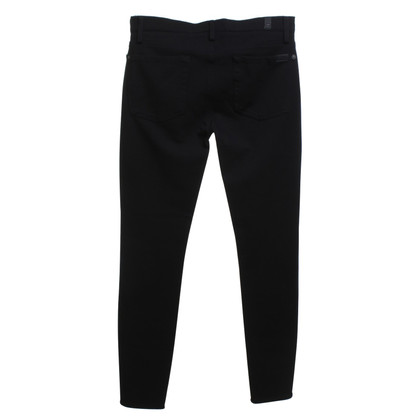 7 For All Mankind Jeggins in Schwarz