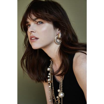 Chanel Earclips with jewelery