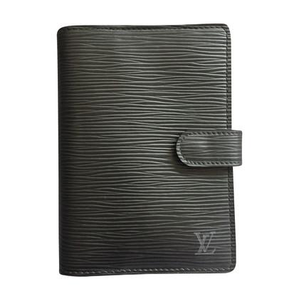 Louis Vuitton Agenda PM pelle nera epi