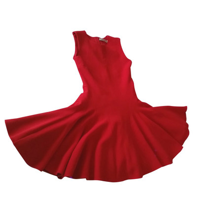 Christian Dior Red Flared Dress