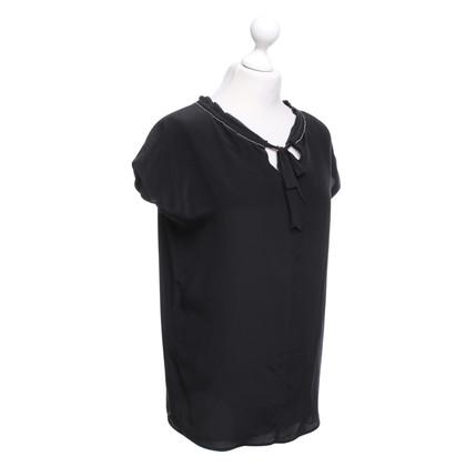 Twin-Set Simona Barbieri top in black