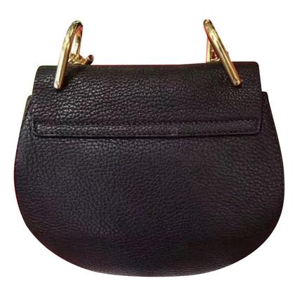 Chloé Drew Shoulder Bag Mini in pelle