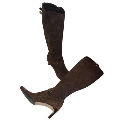 Ralph Lauren Suède laarzen bruin