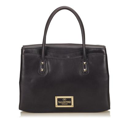 Valentino Leather Rockstud Handbag
