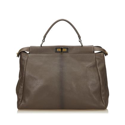 Fendi Leather Peekaboo