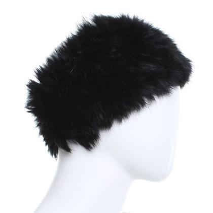 Oakwood Stirnband aus Kaninchenfell
