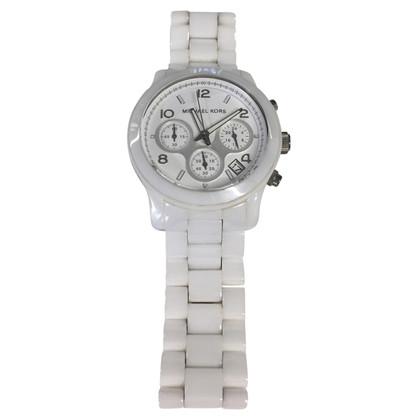 Michael Kors White chronograph