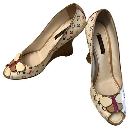 Louis Vuitton Peep-toes with monogram pattern