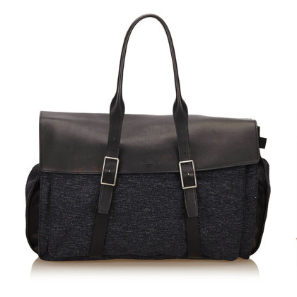 Salvatore Ferragamo Wool Duffel Bag