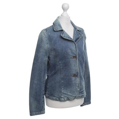 Donna Karan Jeansblazer Gewassen