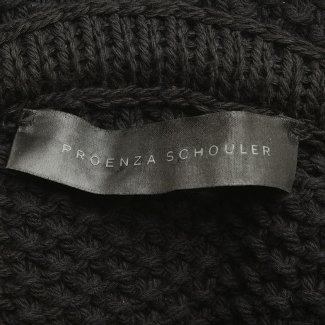 in Schouler Proenza Beige Bunt in Proenza K盲nguru Pullover Muster Schwarz Schwarz Schouler Beige K盲nguru Pullover 0C0Sv