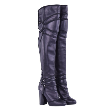 Dolce Overknee Stiefel Schwarz Dolce Overknee amp; Schwarz Dolce Gabbana amp; Stiefel Gabbana FTFr1xqC