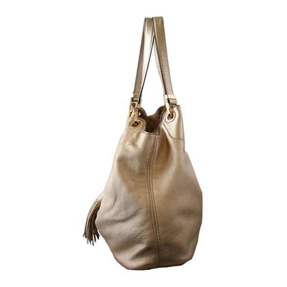 Michael Kors Goldfarbene Handtasche
