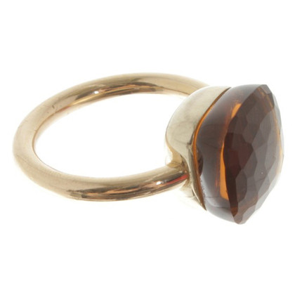 Pomellato anneau de quartz Maxi Madeira