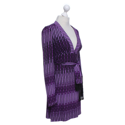 Gucci Silk dress in purple
