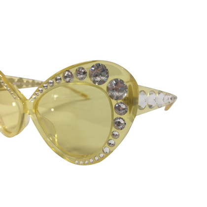 Moschino Sunglasses with rhinestones