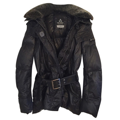 Peuterey Down jacket with faux fur collar