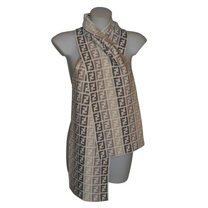 Fendi sciarpa lana nuova