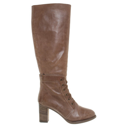 Chloé Boots in Bruin