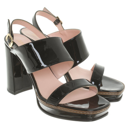 Marc Cain Patent leather sandals
